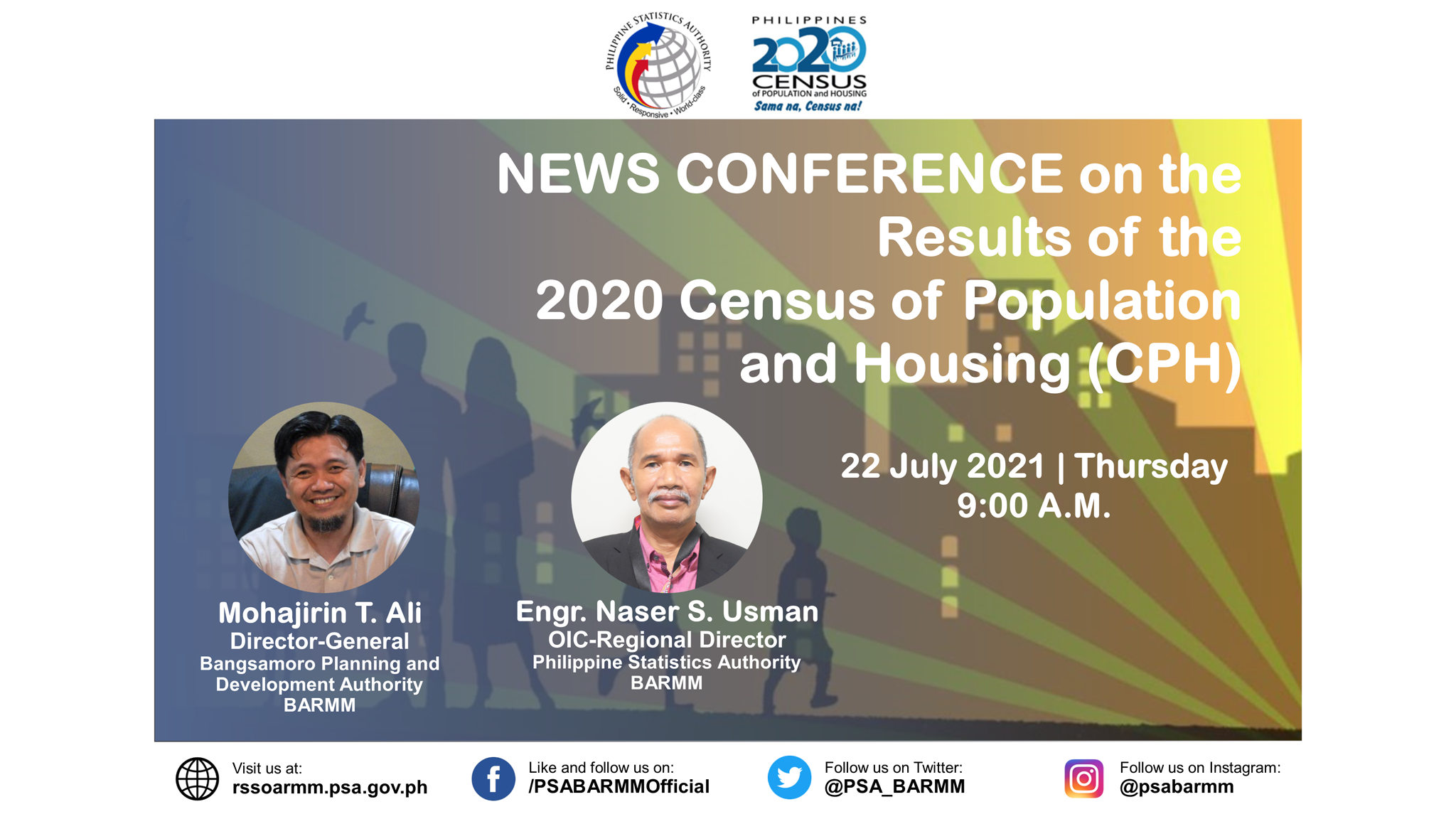 News Conference on the Results of the 2020 Census of Population and Housing