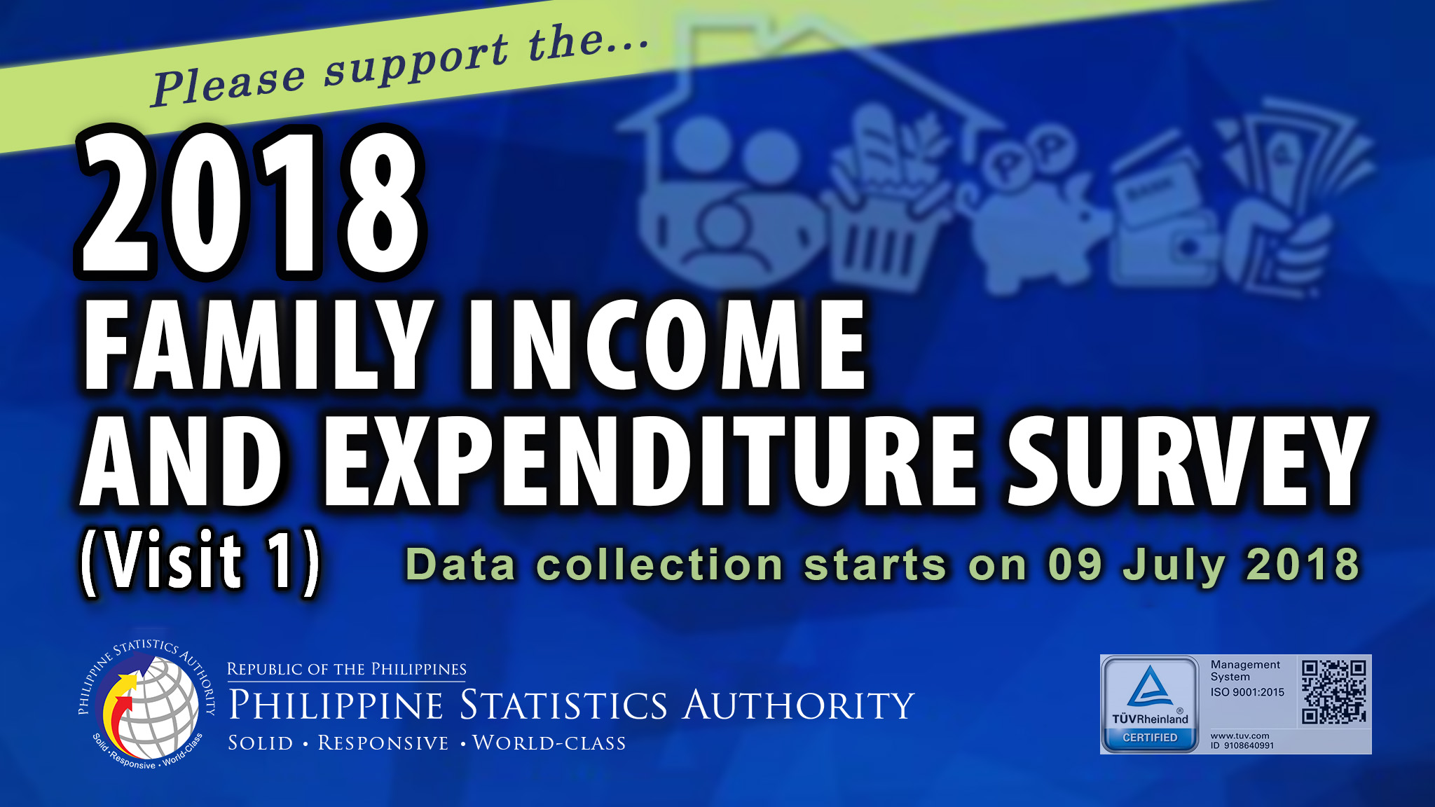 2018 Family Income and Expenditure Survey